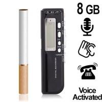 1200-Stunden TELEFON-RECORDER, 8 GB
