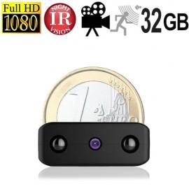 Micro-HD-SpyCam mit DVR, 32 GB