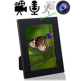 SpyCam getarnt im Bilderrahmen. Gestochen scharfe Bild-, Ton-, Video- Aufnahmen.