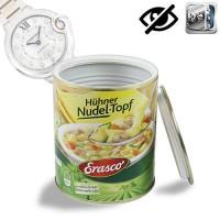 Getarntes Versteck in Lebensmitteldose