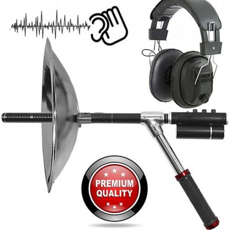 PROFI Parabolic Universal Richtmikrofon für den Lauschangriff in freiem Gelände.