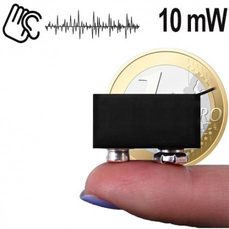 Minisender-Abhörgerät 10-mW. Reichweite bis zu 300 mtr.
