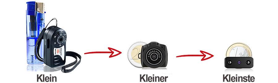 Weltweit kleinste DVR Spionagekamera